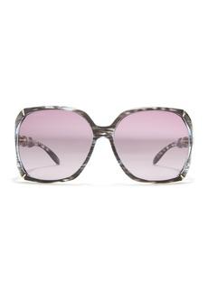 Gucci 58mm Oversized Square Sunglasses