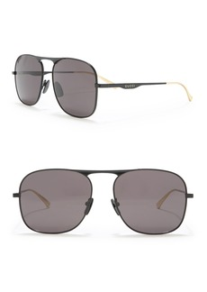Gucci 58mm Square Sunglasses