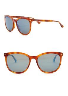 Gucci 58mm Squared Sunglasses