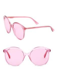 Gucci 59MM Round Sunglasses