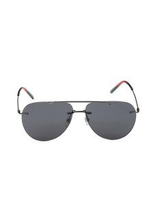 Gucci 60MM Aviator Core Sunglasses