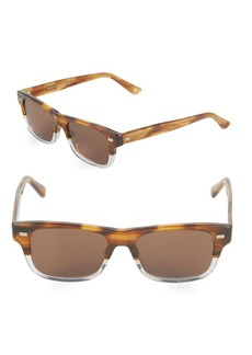 Gucci 60MM Rectangle Sunglasses