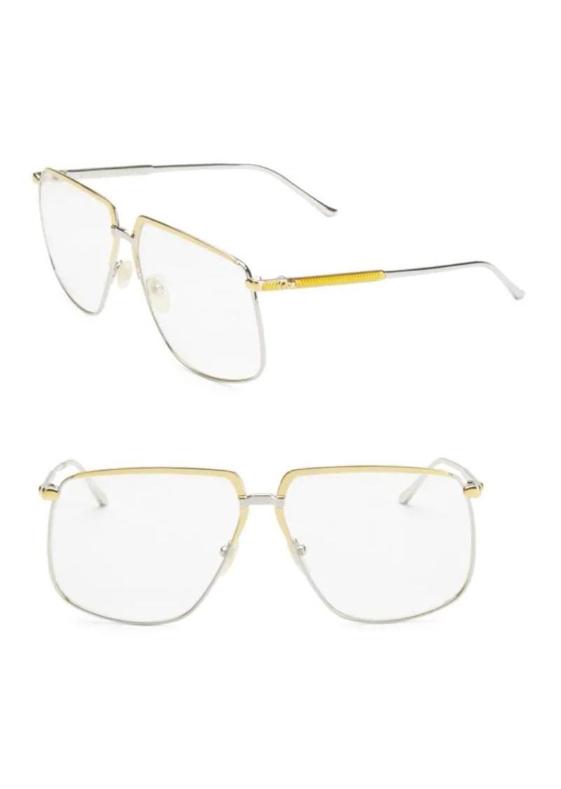 Gucci 63MM Square Sunglasses