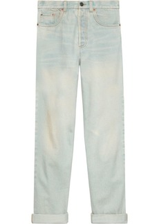 Gucci 80s stone washed jeans