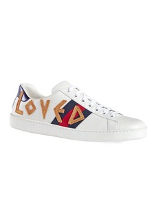 Gucci New Ace Embroidered Sneaker