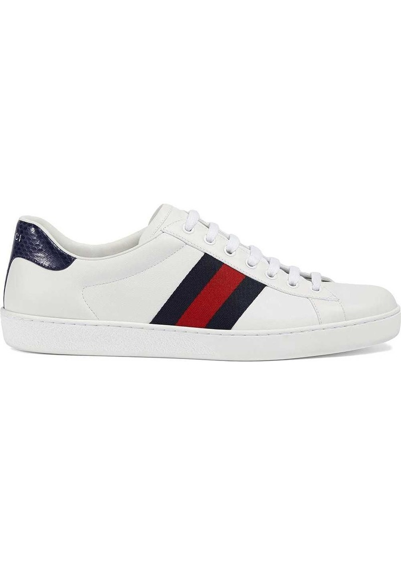 Gucci Ace leather low-top sneaker