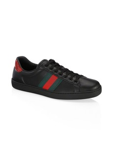 Gucci New Ace Leather Sneaker