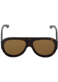 Gucci Acetate Aviator Mask Sunglasses