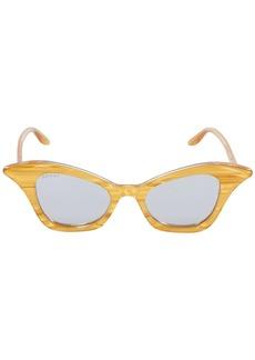 Gucci Acetate Cat Eye Sunglasses