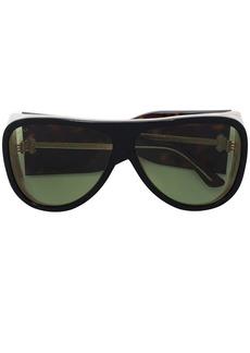 Gucci brown acetate sunglasses
