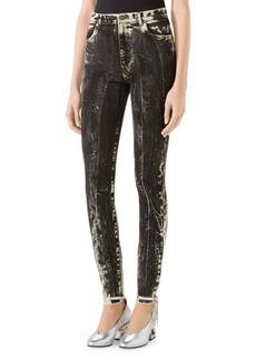 Gucci Acid Wash Skinny Jeans