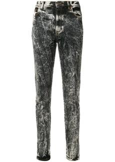 Gucci acid wash slim-fit jeans