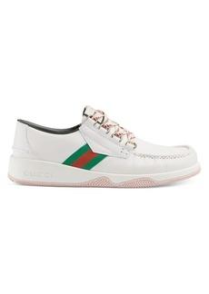 Gucci Agrado Leather Sneakers