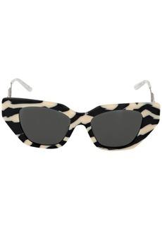Gucci Animalier Acetate Cat Eye Sunglasses