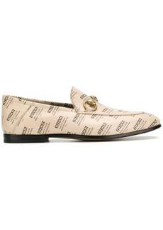 Gucci Apollo stamp loafers