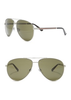 Gucci Aviator 61mm Sunglasses