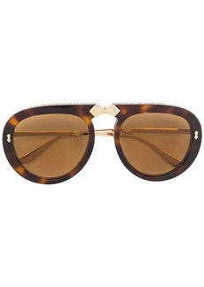 Gucci Aviator foldable sunglasses