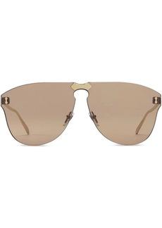 Gucci Aviator rimless sunglasses