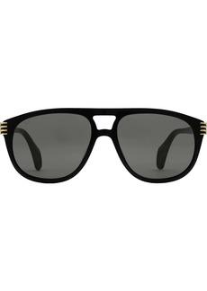 Gucci aviator sunglasses with enamel