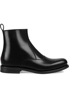 Gucci bee detailed chelsea boots