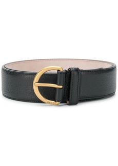 Gucci bee plaque belt