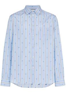bd01c2155379 Gucci Acetate bowling shirt with Gucci stripe | Casual Shirts