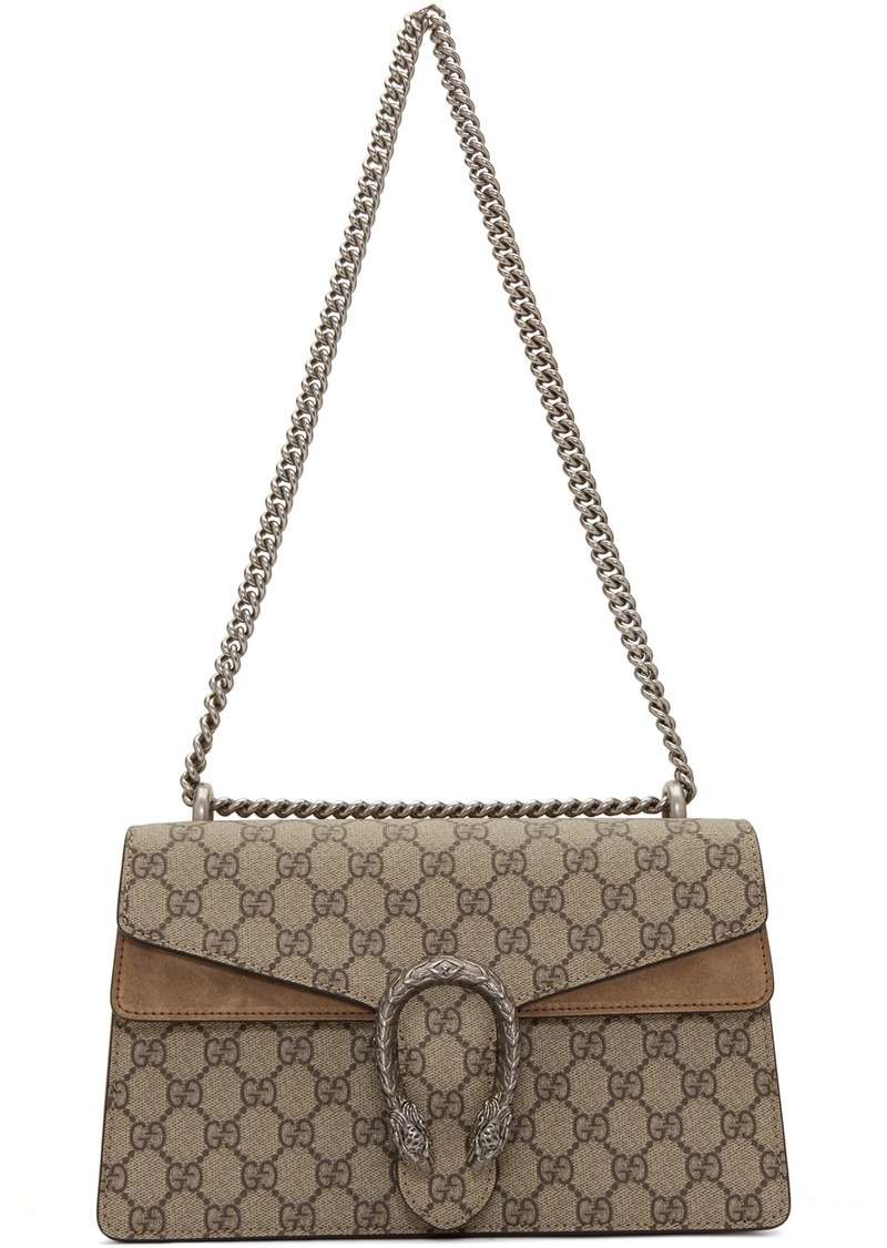 Gucci Beige Small Dionysus Shoulder Bag