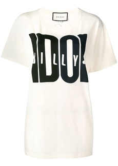 Gucci Billy Idol print T-shirt