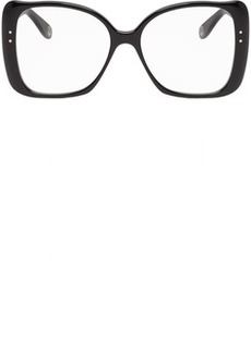 Gucci Black Butterfly Oversized Glasses