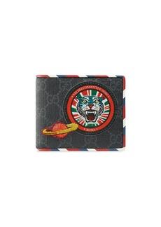 Gucci black Courrier GG Supreme wallet