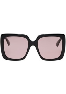 Gucci Black Feminine Chic Sunglasses