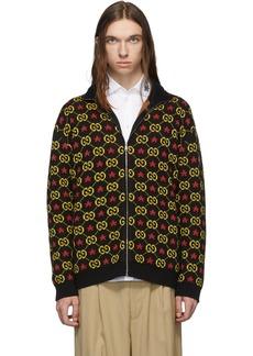 Gucci Black GG Star Sweater