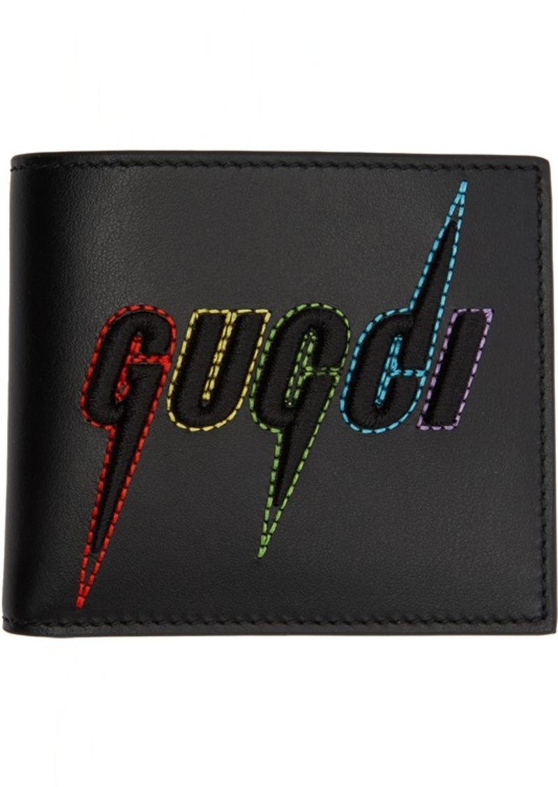 Black 'Gucci Blade' Wallet