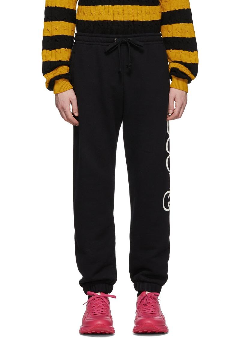 Gucci Black Jogging Lounge Pants