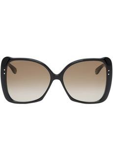 Gucci Black Oversized Butterfly Sunglasses