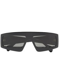 a5a5e3893e7 Gucci Gucci 80s Monocolor 60mm Polarized Aviator Sunglasses
