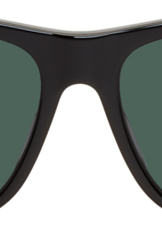Gucci Black Rectangular Sunglasses