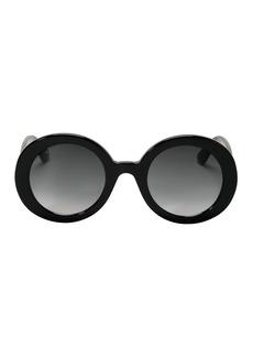 Gucci Thick Round Sunglasses