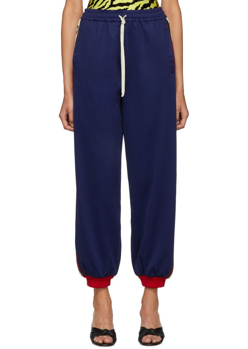 Gucci Blue GG Lounge Pants