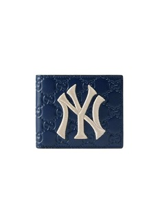 Gucci blue Wallet with NY Yankees™ patch