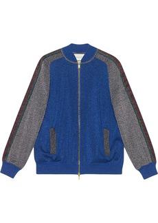 Gucci lurex track jacket