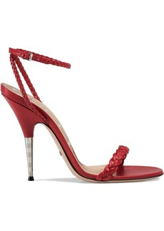 Gucci Braided leather sandal