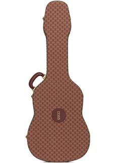 Gucci Burgundy & Tan Ophidia Guitar Case