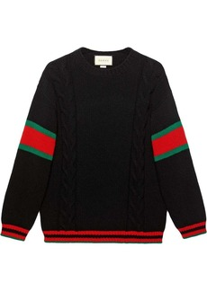 Gucci cable knit jumper