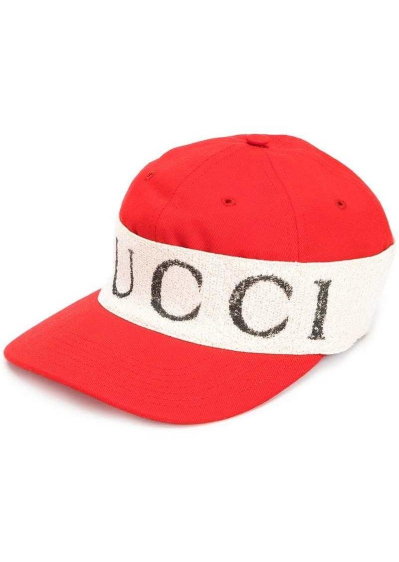 d286f460ee2d2 Gucci cap with logo headband