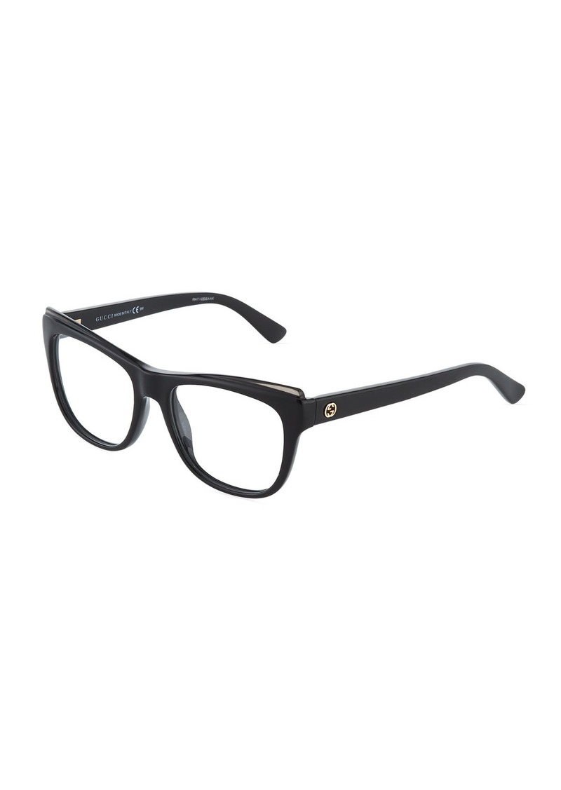 68d7fae63b Gucci Cat-Eye Optyl® Acetate Optical Glasses