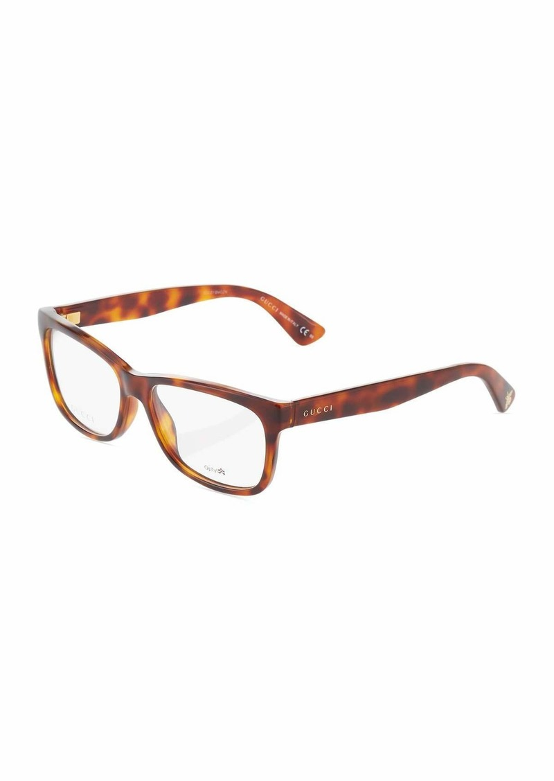 2178109742b74 Gucci Cat-Eye Tortoiseshell Acetate Optical Glasses