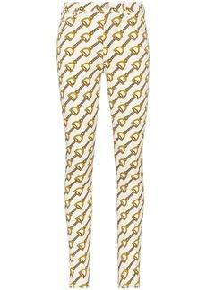 Gucci Chain print skinny jeans