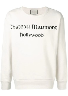 53556d80b0e Gucci White New York Yankees Edition Floral Gothic Print Shirt ...