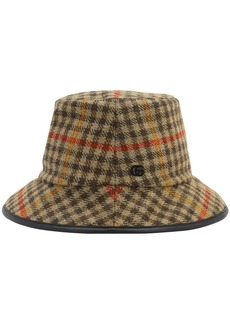 Gucci Check Wool Bucket Hat